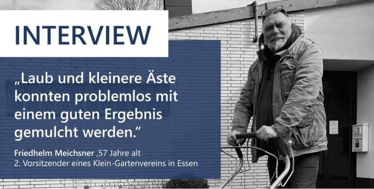 Read more about the article Rapport de terrain, Friedhelm Meichsner