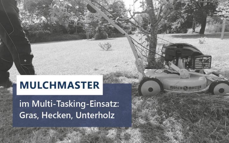 Read more about the article Mulchmaster im Multi-Tasking-Einsatz: Gras, Hecken, Unterholz