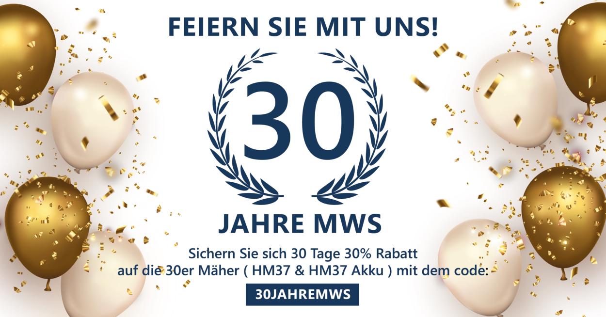 Read more about the article Offre anniversaire 30 ans d'outils de coupe MWS